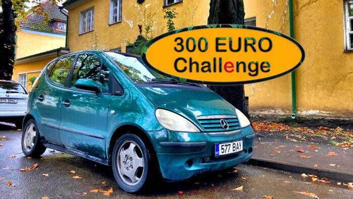 300 euro challenge - Mercedes A140