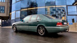 Mercedes W140 ja 10 amprit