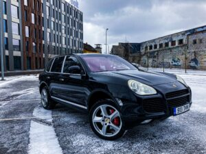 Porsche Cayenne Turbo – esimene generatsioon
