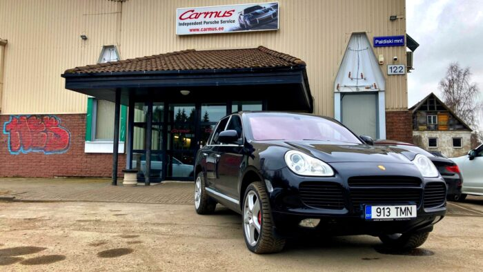 Porsche Carmus ostueelne kontroll