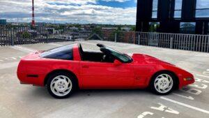 Corvette C4 – head teed!