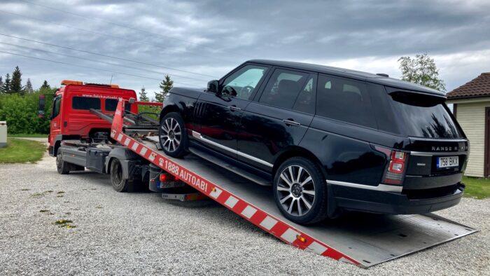 Range Rover L405 puksiir